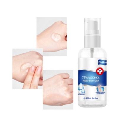 Αντισηπτικό Gel Χεριών 75% Αλκοόλη με Βιταμίνη E 100ml Diviloo
