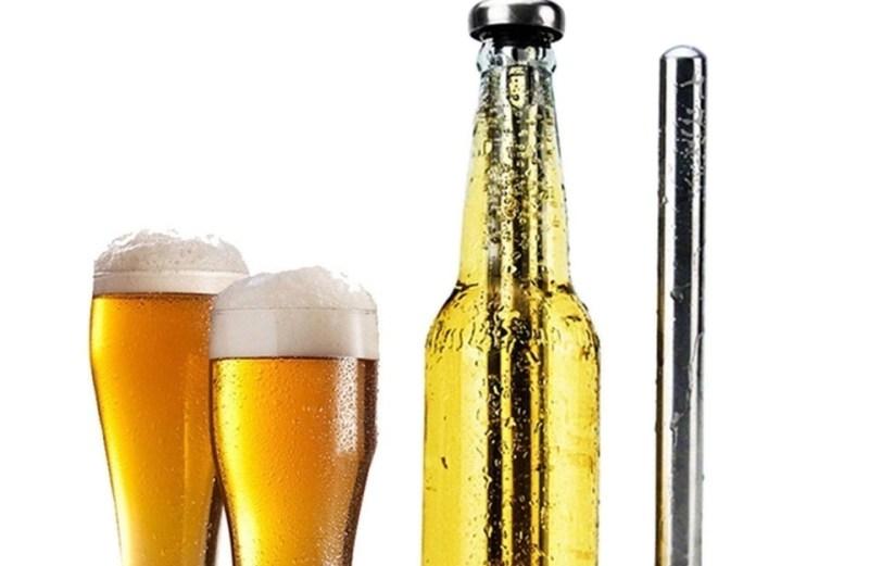 Στιγμιαίος Ψύκτης Μπύρας από Ανοξείδωτο Ατσάλι 2 Τεμαχίων Beer Chiller Stick