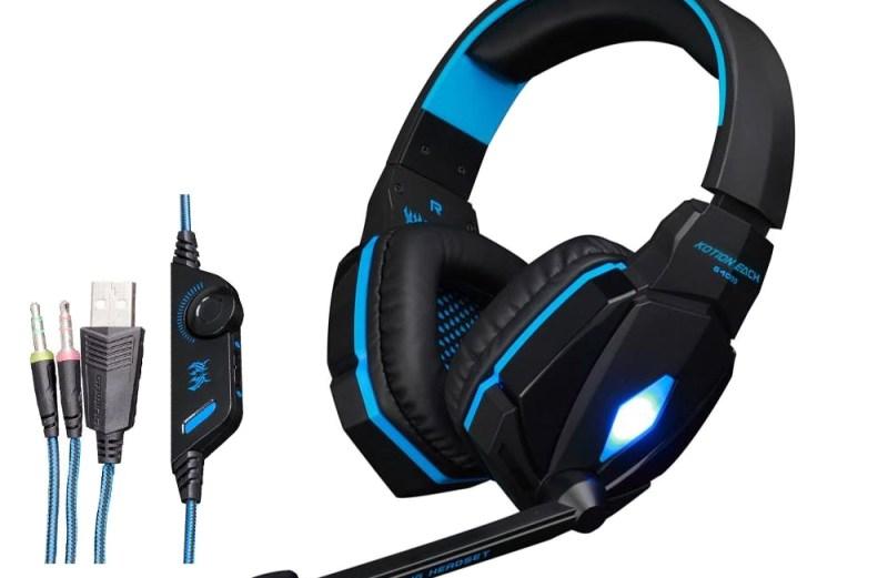 Ενσύρματα Gaming Ακουστικά με Μικρόφωνο και LED Φωτισμό Kotion Each Pro G4000