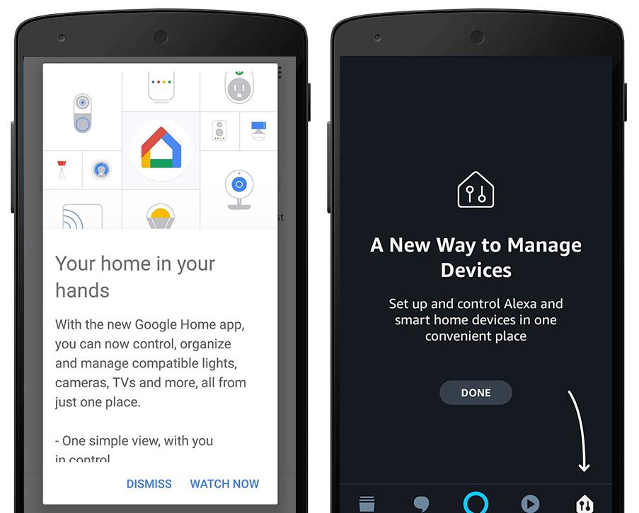 אפליקציות Home ו-Alexa מקבלות עדכון מסיבי