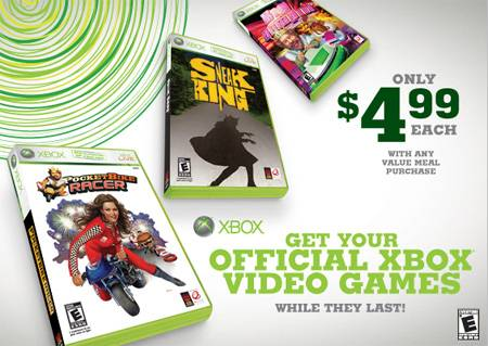Burger King Canada XBox360 Game Deal Canadian Freebies