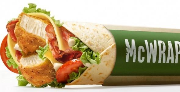 Crispy Chicken Wrap Mcdonalds