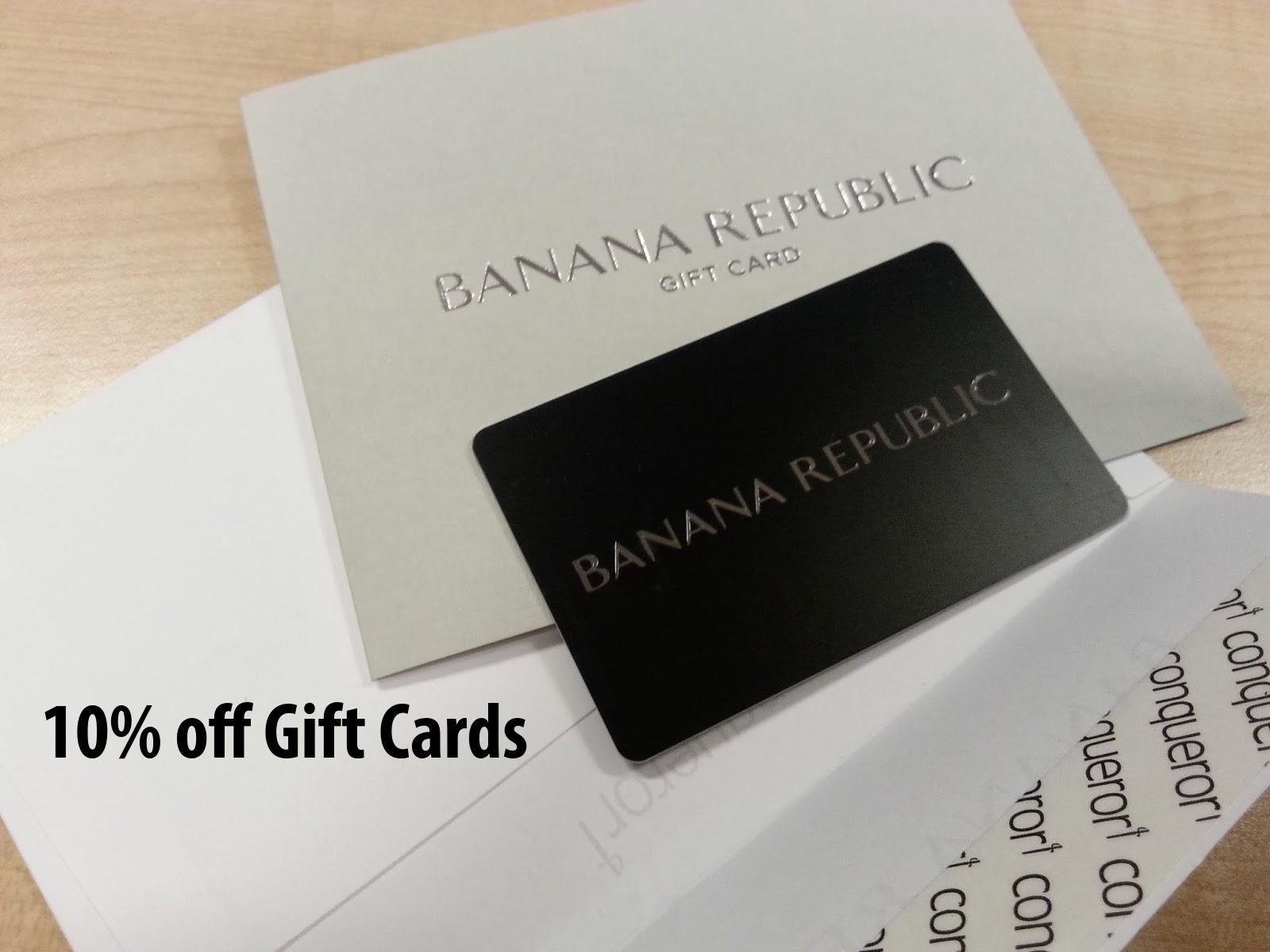 Banana republic visa card payment