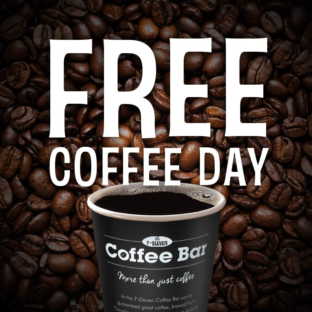 7 Eleven Canada Valentines Day Promotions FREE Coffee Or