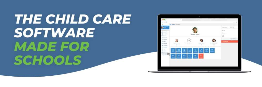The Child Care Software Made for Schools banner image