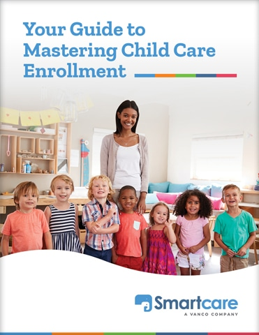 childcare enrollment image- Woman posing with kids
