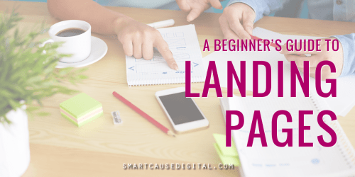 A nonprofit guide to landing pages