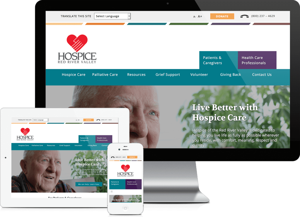 Hospice of the Red River Valley website