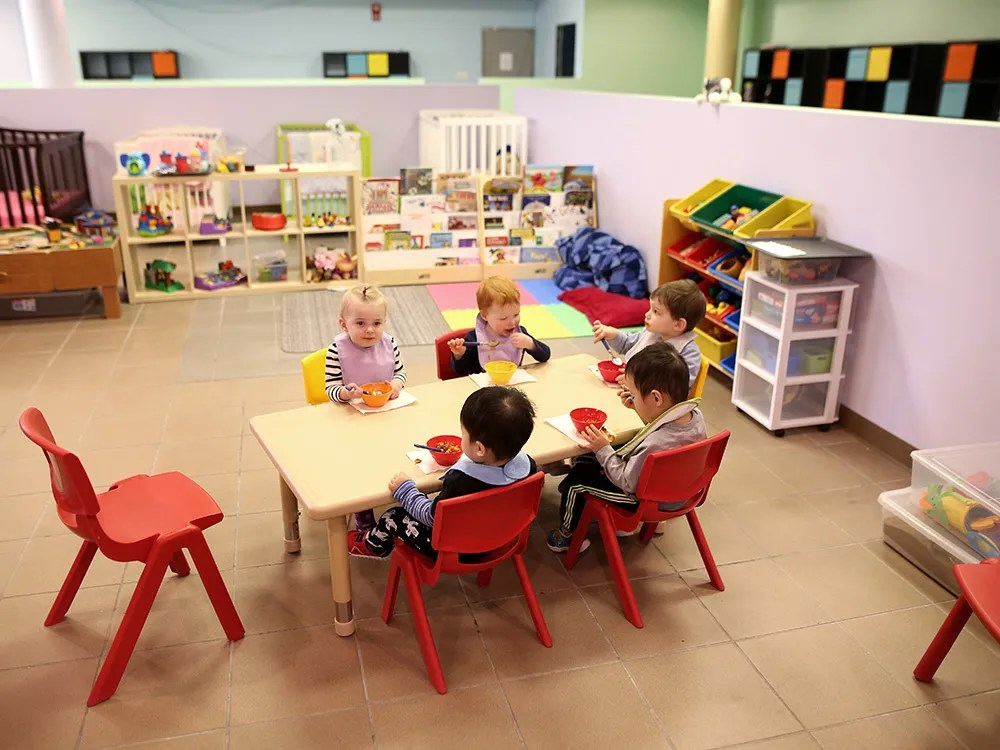 FILE PHOTO: A child-care centre in Calgary. Photo taken on Wednesday, March 2, 2016.
