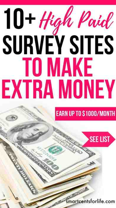 Are you looking to make some extra income? You can earn hundreds each month by only answering surveys. They are FREE to sign up and easy to use! earn extra money now!