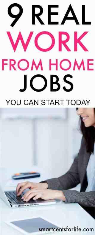 smart work home jobs