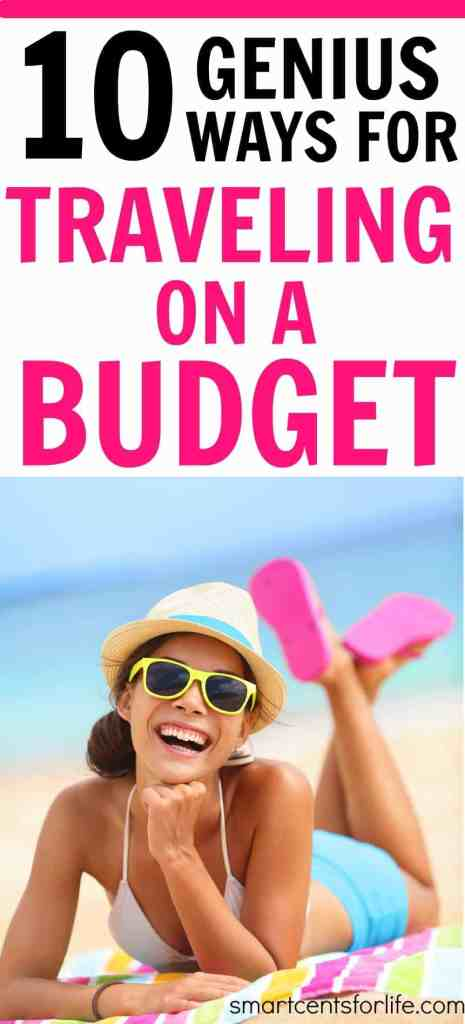 10 tips for traveling on a budget. This guide will show you how to travel on a budget without spending a fortune on your next vacation. Here are 10 tips for traveling on a budget. Learn these tips and tricks and save a lot of money on your family vacation trips!