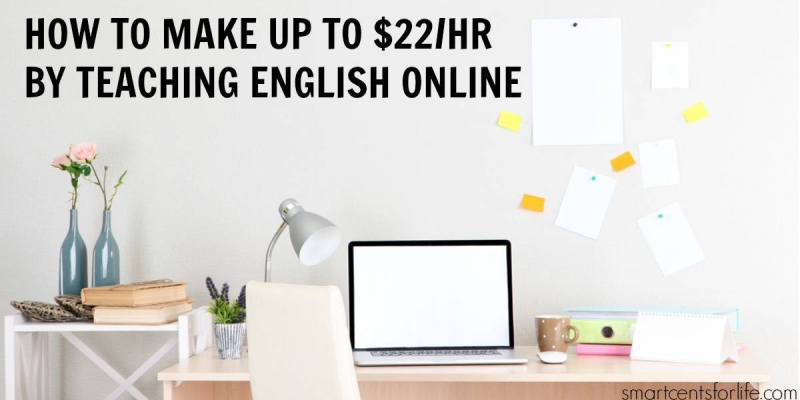 how to make up to $22 per hour by teaching English online. Teaching English online could be a rewarding career especially if you are looking for jobs with a flexible schedule and that pays well. You can work from home or anywhere! Find out how you can become an online English teacher and make up to $22 per hour.