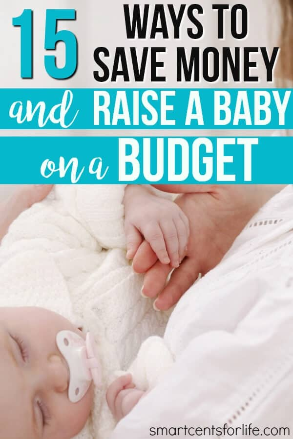 Whether you are a first-time mom or not learn how you can save money and raise a baby on a budget. Yes, having a baby on a small budget it's possible! This list will show you how you can prepare for a new baby on a tight budget. How to save money on a baby | baby on a budget | how to save money on baby items | frugal living