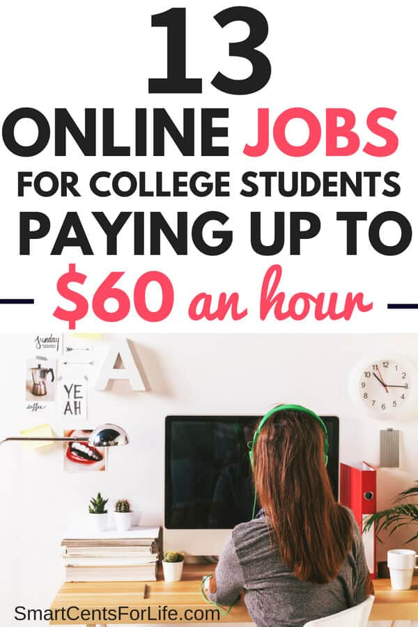 15 Best Online Jobs For College Students That Are