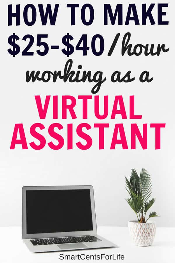 Want to know how to become a Virtual Assistant and make money from home? Check out this legitimate work at home job and learn how to make money from home working as a virtual assistant, no experience required. Make money at home with this fast growing career! #sidehustle #virtualassistantjobs #workathomejobs #business #va