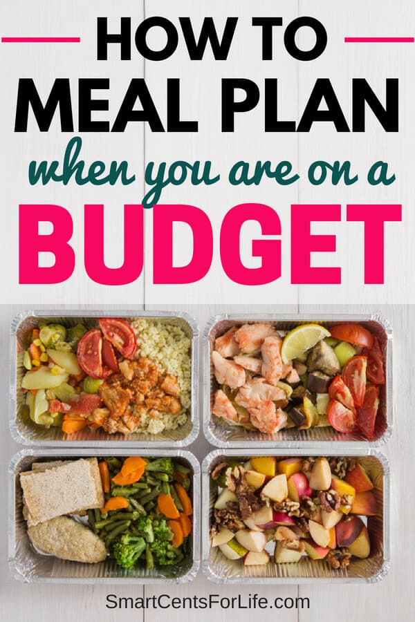 Want to start meal planning to save time and money? Check out these tips on how you can easily meal plan for you and your family even if you are on a tight budget. Meal plan ideas, freezer meals, save money on food, easy frugal cheap meals, crockpot meal ideas, healthy meals, vegetarian meals