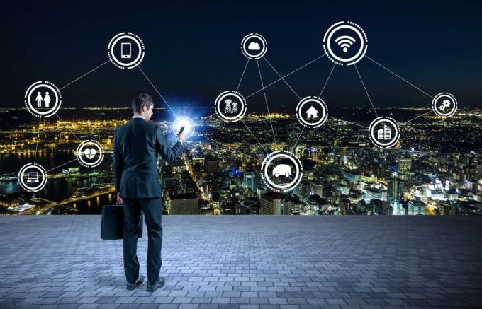 lifi technology, visible light communication, smart city