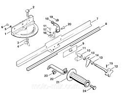Поворотный суппорт для ножей мотоножниц STIHL (52037501400)