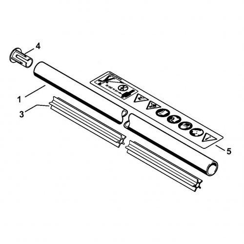 Хвостовик 28 мм STIHL (41287107108)