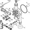 Клапан STIHL RE 88, RE 98 (47757006200) 11683