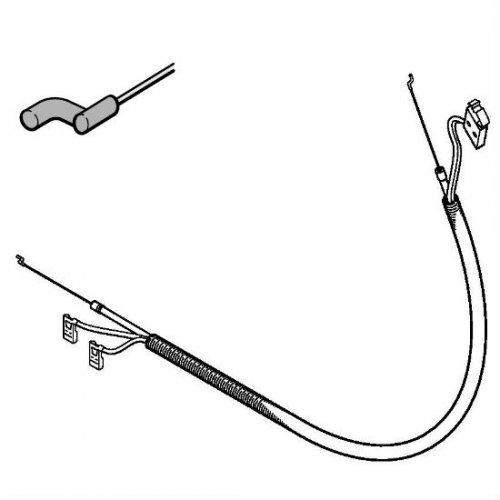 Трос управления дроссельной заслонкой STIHL (41401801112)