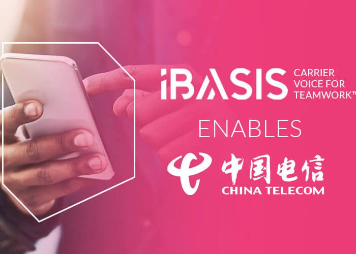 iBASIS Carrier Voice for Teamwork™ Enables China Telecom Europe (CTE) and the Carrier Community to Meet Surging Post-Pandemic Enterprise Demand