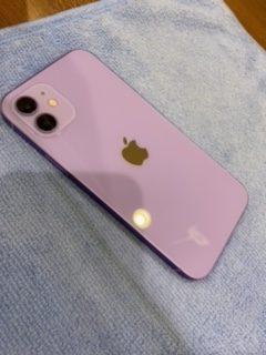 iPhone12 ガラスコーティング 【太宰府市からのご来店】