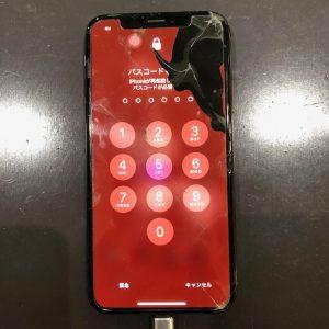 iPhoneXS 液晶漏れ
