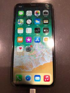 iPhoneXR 水没復旧画面交換