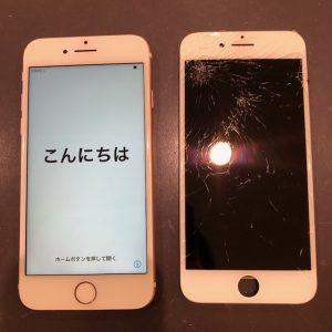 iPhone6 画面交換修理