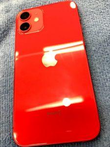 ガラスコーティングをしたiPhone12mini
