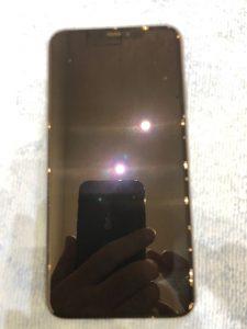 iPhoneXSMaxのガラスコーティング