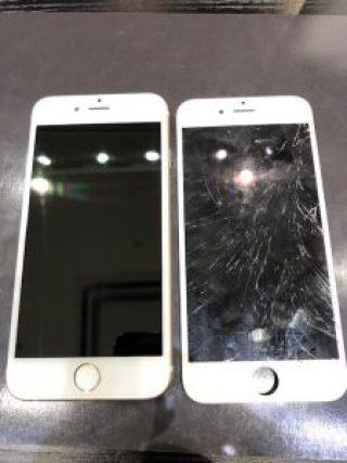 iPhone6の画面修理