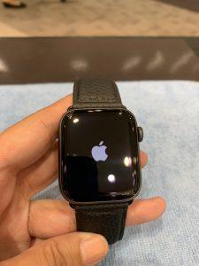AppleWatchのガラスコーティング