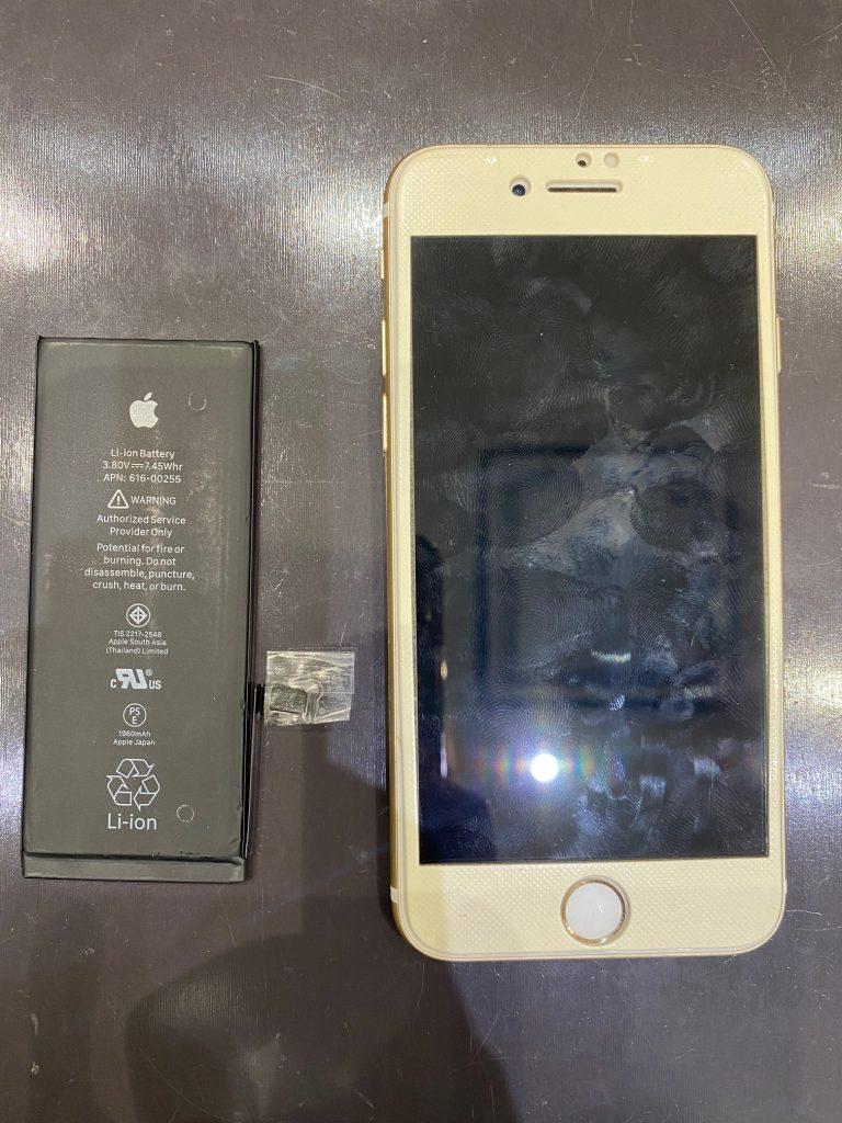 アイフォーン7のバッテリー交換