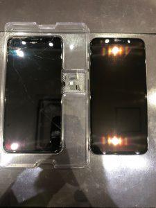 iPhone Xの画面割れ修理