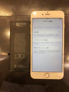 iPhone6PLUS バッテリー交換