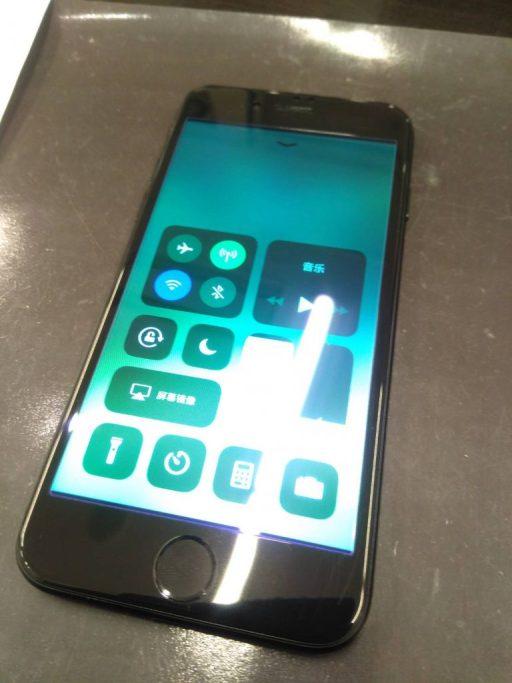 iPhone画面保護ブルーライトカットフィルム