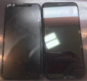 iphoneXRの画面割れ修理