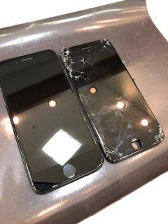 画面割れiPhone8