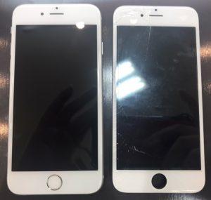 iphone6sの画面割れ修理