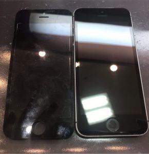 iphoneSEの水没修理
