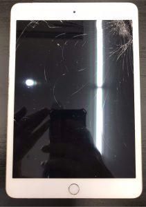 ipad5の画面割れ修理