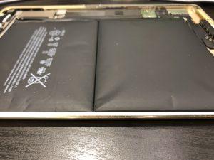 膨張バッテリーiPad