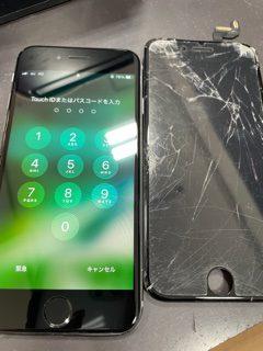 修理後アイフォン6S