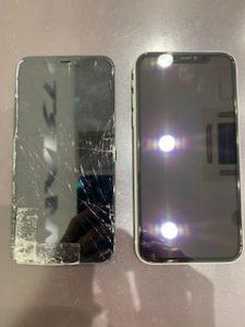 iPhone8ガラス交換