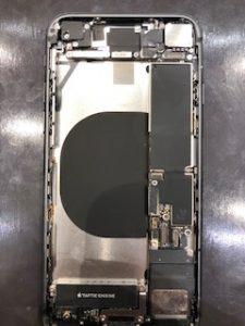iPhoneXバッテリー交換作業中です!