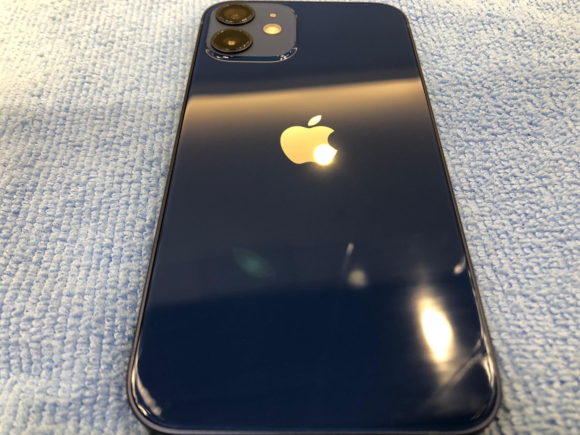 最新モデルのiPhone12miniを両面ガラスコーティング(^_-)-☆