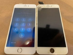 iPhone6s+画面修理